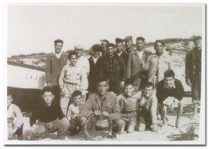 Conil fishermen c.1962