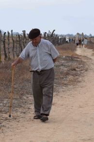 Old man on trail copy